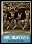 1963 Topps #18  Buc Blasters    -  Smoky Burgess / Dick Stuart / Roberto Clemente / Bob Skinner Front Thumbnail