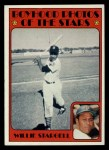 1972 Topps #343  Boyhood Photo  -  Willie Stargell Front Thumbnail