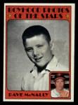 1972 Topps #344  Boyhood Photo  -  Dave McNally Front Thumbnail