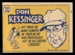 1970 Topps #456  All-Star  -  Don Kessinger Back Thumbnail