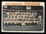 1973 Topps #26   Pirates Team Front Thumbnail
