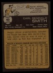 1973 Topps #40   Reggie Smith Back Thumbnail