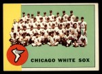 1963 Topps #288   White Sox Team Front Thumbnail
