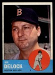 1963 Topps #136   Ike Delock Front Thumbnail