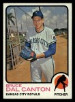 1973 Topps #487   Bruce Dal Canton Front Thumbnail