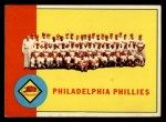 1963 Topps #13   Phillies Team Front Thumbnail