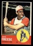 1963 Topps #133   Gene Freese Front Thumbnail