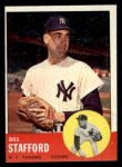 1963 Topps #155  Bill Stafford  Front Thumbnail