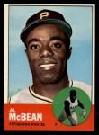 1963 Topps #387 COR  Al McBean Front Thumbnail