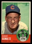 1963 Topps #452  Barney Schultz  Front Thumbnail