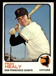 1973 Topps #361  Fran Healy  Front Thumbnail