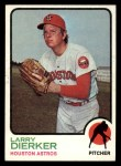 1973 Topps #375   Larry Dierker Front Thumbnail