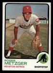 1973 Topps #395   Roger Metzger Front Thumbnail