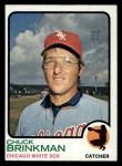 1973 Topps #404   Chuck Brinkman Front Thumbnail