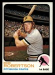 1973 Topps #422  Bob Robertson  Front Thumbnail