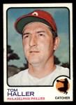 1973 Topps #454   Tom Haller Front Thumbnail
