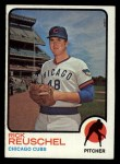 1973 Topps #482  Rick Reuschel  Front Thumbnail