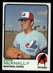 1973 Topps #484  Ernie McAnally  Front Thumbnail