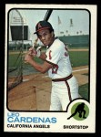 1973 Topps #522   Leo 'Chico' Cardenas Front Thumbnail