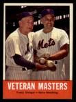 1963 Topps #43  Veteran Masters    -  Casey Stengel / Gene Woodling Front Thumbnail