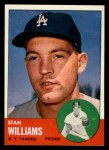 1963 Topps #42   Stan Williams Front Thumbnail