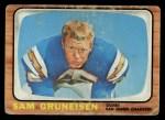 1966 Topps #124   Sam Gruniesen Front Thumbnail