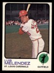 1973 Topps #47   Luis Melendez Front Thumbnail