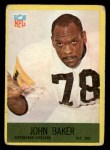 1967 Philadelphia #147   John Baker Front Thumbnail