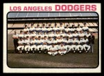 1973 Topps #91  Dodgers Team  Front Thumbnail