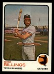 1973 Topps #94   Dick Billings Front Thumbnail