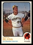 1973 Topps #95   Steve Blass Front Thumbnail