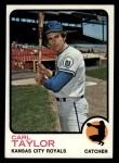1973 Topps #99   Carl Taylor Front Thumbnail