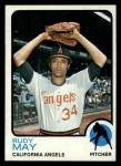 1973 Topps #102   Rudy May Front Thumbnail