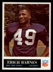 1965 Philadelphia #114   Erich Barnes  Front Thumbnail