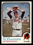 1973 Topps #109  Doyle Alexander  Front Thumbnail