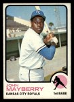 1973 Topps #118   John Mayberry Front Thumbnail