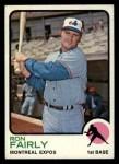 1973 Topps #125   Ron Fairly Front Thumbnail