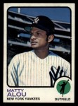 1973 Topps #132   Matty Alou Front Thumbnail