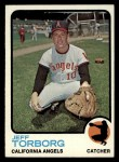 1973 Topps #154   Jeff Torborg Front Thumbnail