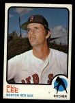 1973 Topps #224   Bill Lee Front Thumbnail