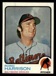 1973 Topps #229  Roric Harrison  Front Thumbnail