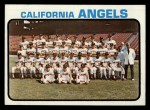 1973 Topps #243  Angels Team  Front Thumbnail