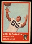 1963 Fleer #60   Bob Coolbaugh Front Thumbnail