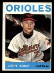 1964 Topps #22   Jerry Adair Front Thumbnail