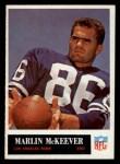 1965 Philadelphia #91  Marlin McKeever   Front Thumbnail