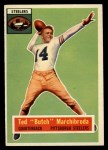 1956 Topps #51   Ted Marchibroda Front Thumbnail