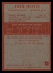 1965 Philadelphia #3  Bob Boyd  Back Thumbnail