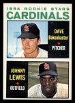 1964 Topps #479  Cardinals Rookies  -  Dave Bakenhaster / Johnny Lewis Front Thumbnail