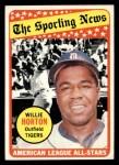 1969 Topps #429  All-Star  -  Willie Horton Front Thumbnail