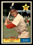 1961 Topps #118  Chris Cannizzaro  Front Thumbnail